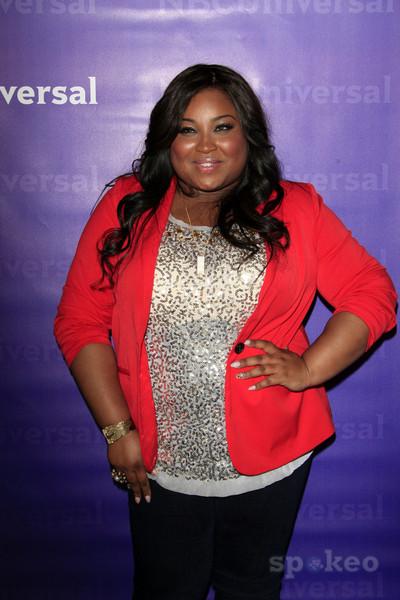 Celebrity Fit Club Tanisha Thomas Talks To Cameras At ...